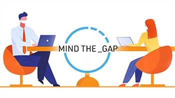 logo mind the gap